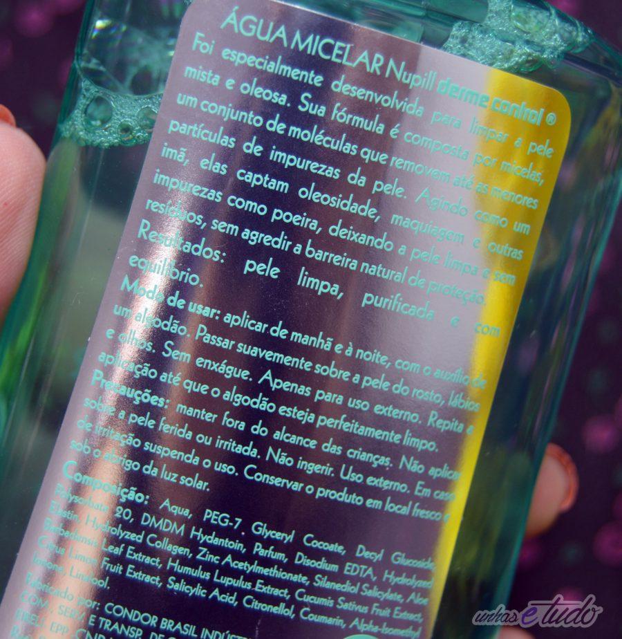 agua micelar nupill 1