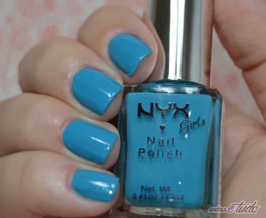 esmalte hot blue nyx 1