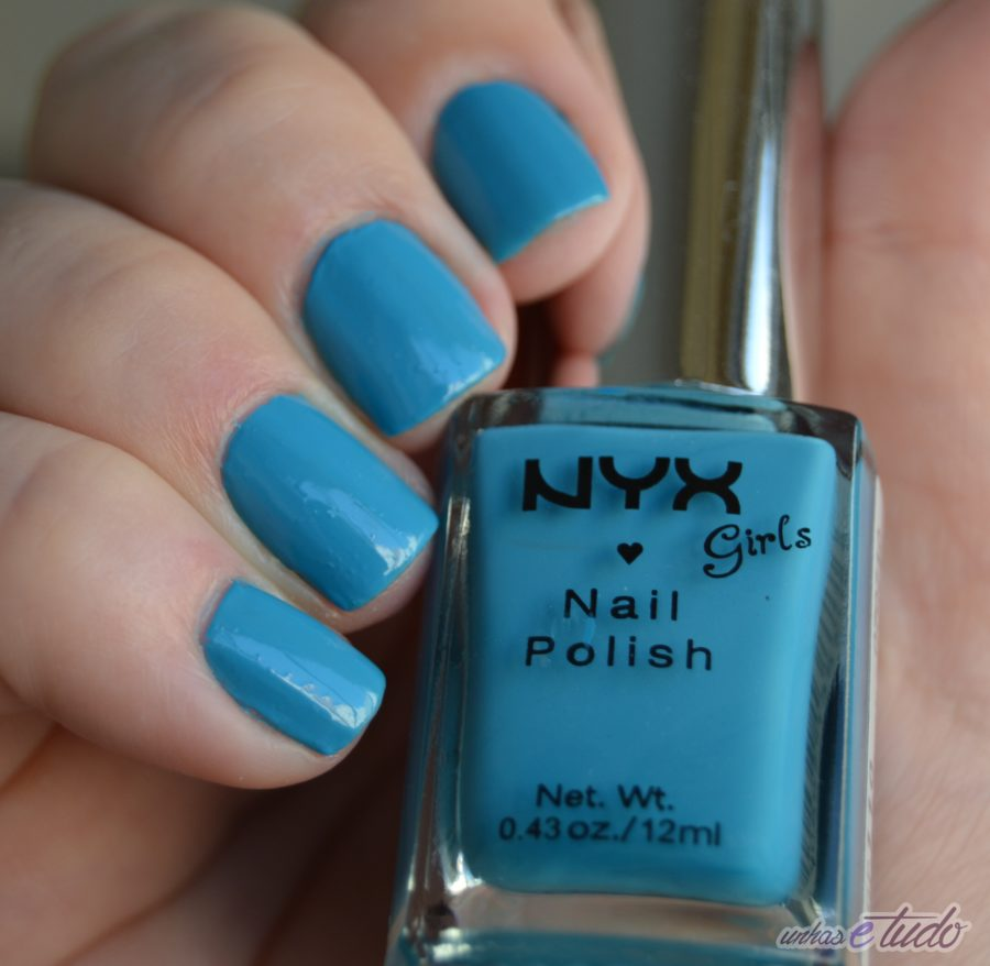 esmalte hot blue nyx 2