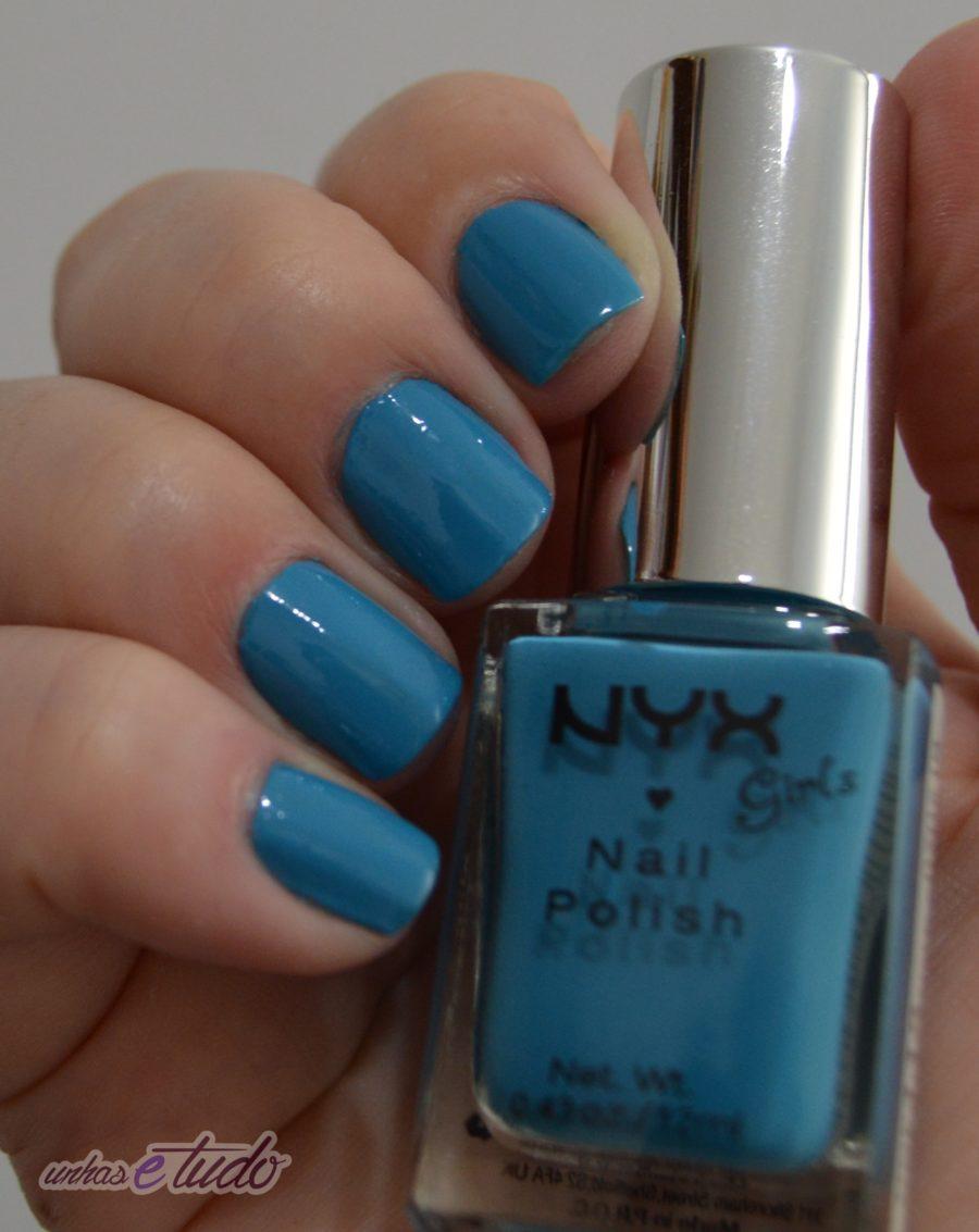 esmalte hot blue nyx 3