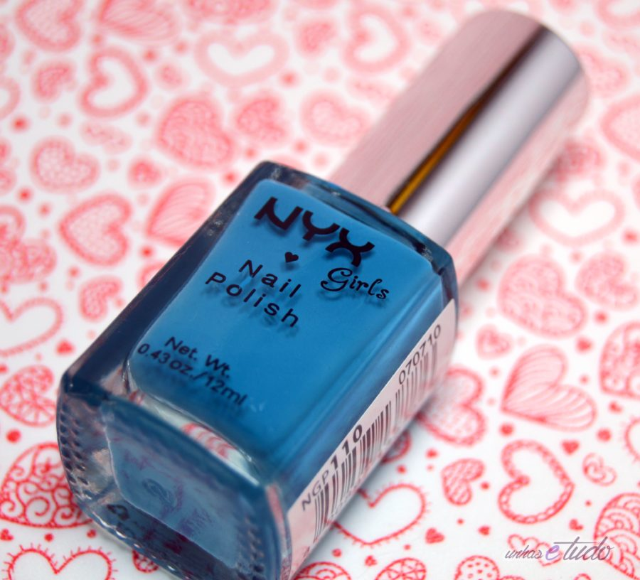 esmalte hot blue nyx