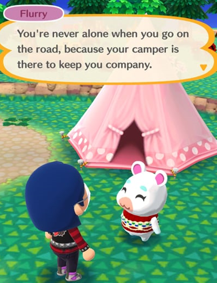 animal crossing animal camp quarentena
